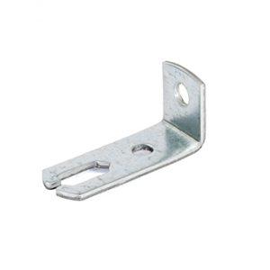 Pieza sujeción perfil techo registrable varilla roscada